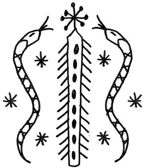 hatian voodoo veve symbols meaning vodou veves symboles mystique et etsy
