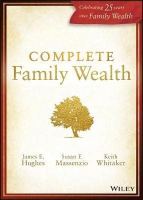 complete family wealth e hughes 9781119453215