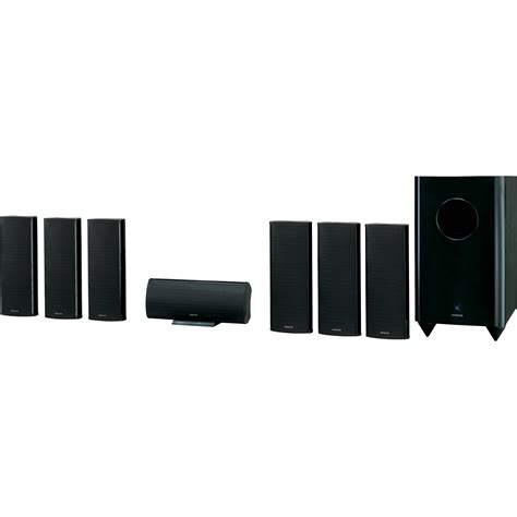 onkyo sks ht750 7 1 channel home theater speaker system