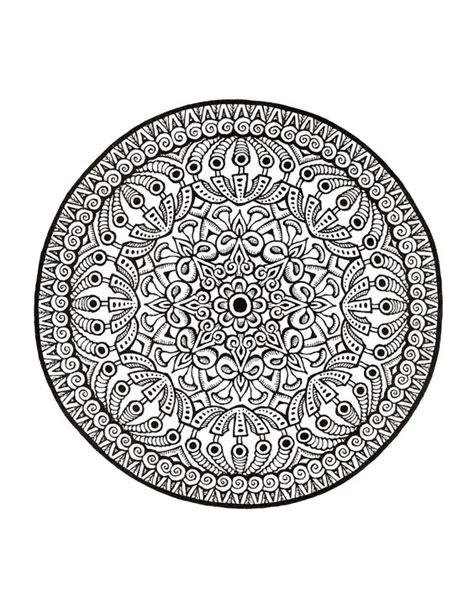 mystical mandala coloring pages free mystical mandala coloring book teach mandala