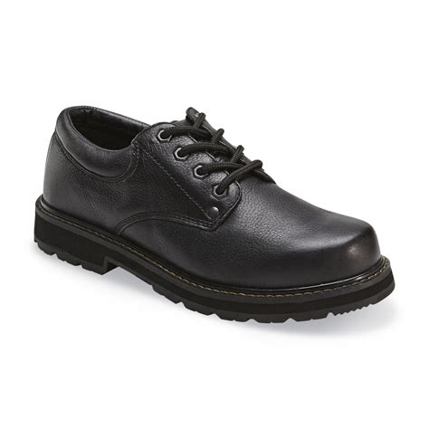 black work shoes dr scholl s s harrington black work shoe black wide