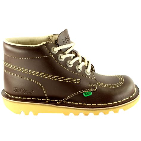 shoes kickers unisex infants kickers kick hi back to school leather