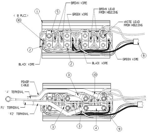 warn xd9000i winch schematic get free image about wiring