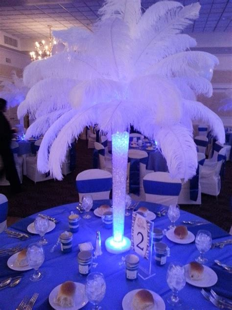 feather centerpieces feather centerpiece rental for