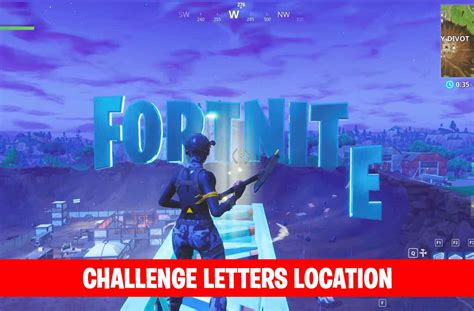 fortnite letters fortnite letter locations search fortnite letters fortnite