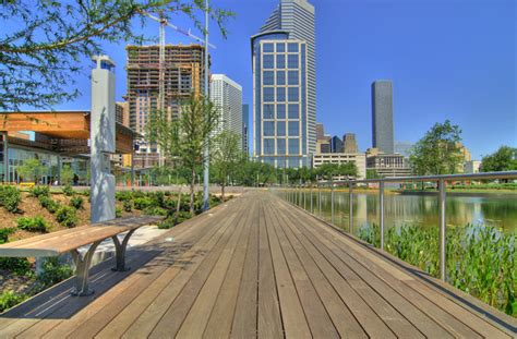 Downtown At The Gardens Times by Discovery Green Park Kyle Miller Msis