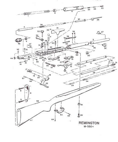 remington 66 parts diagram remington arms company 22 rifle parts available