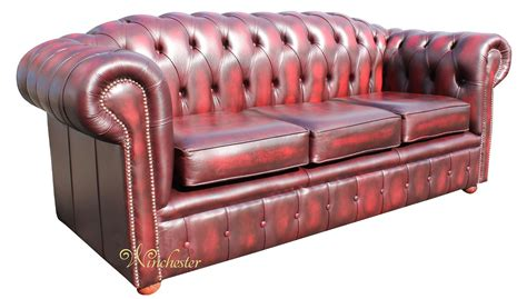 second hand settees ebay oxblood leather sofa red leather chesterfield sofa second