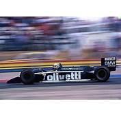 Turbo Tragedy  1986 Brabham BT55