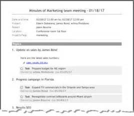 How To Type Minutes From A Meeting Template by Doc 585720 Meeting Note Taking Template Meeting Notes