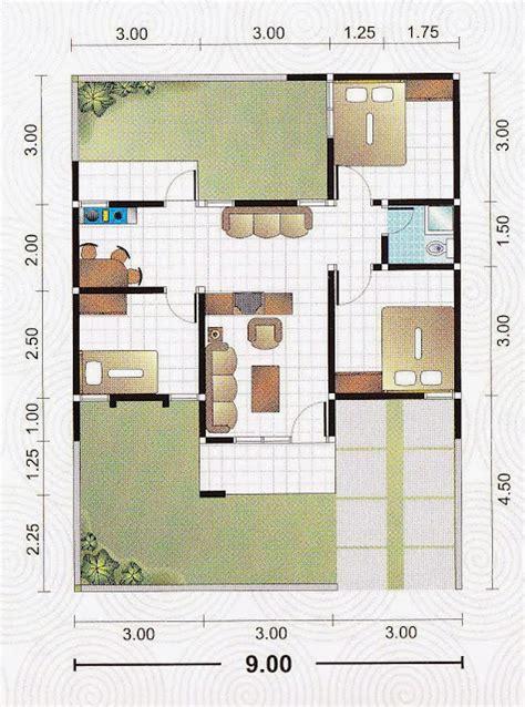 denah rumah minimalis meter desain denah rumah terbaru denah rumah minimalis desain rumah modern tipe denah minimalis