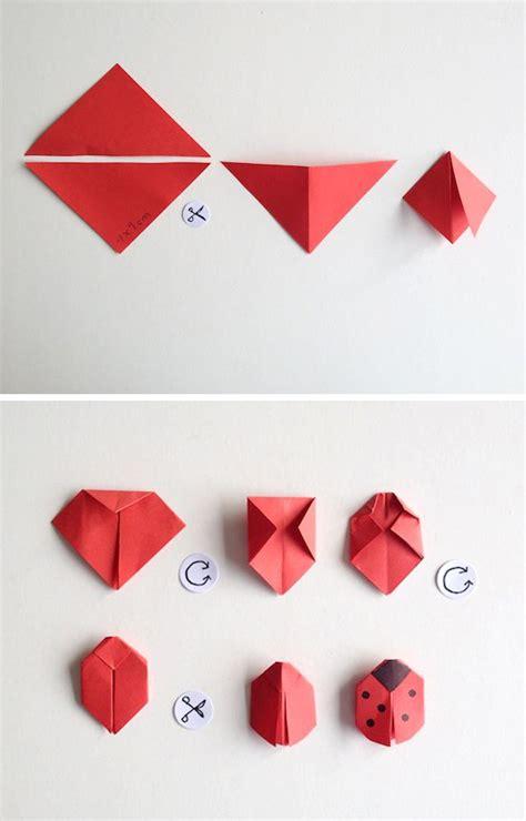 tutorial origami quadrifoglio viel gl 252 ck mit k 228 fer und kleeblatt viel gl 252 ck kleeblatt