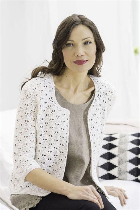 Blouse Novita novita lace patterns jacket made with novita wool yarn novitaknits https www novitaknits