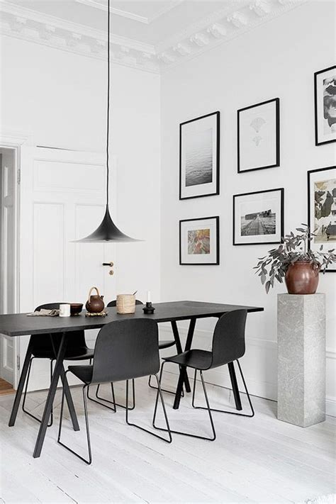 black and white dining table 25 best ideas about black dining tables on
