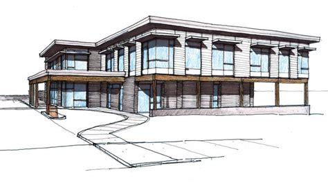 One Story Floor Plans medical office building planned in bend two story