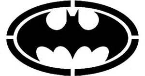 batman motif template batman symbol stencil template for