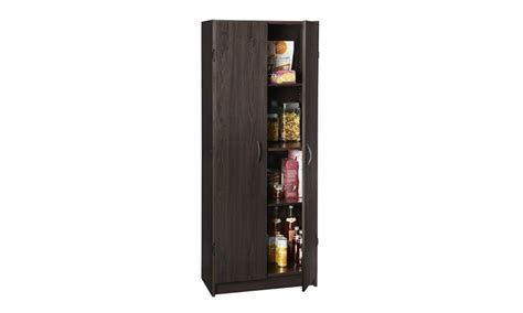 closetmaid 1556 pantry cabinet espresso groupon