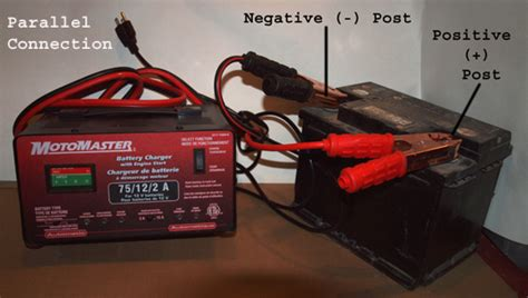 how to use a car battery to power lights how to use a trickle charger a by guideline