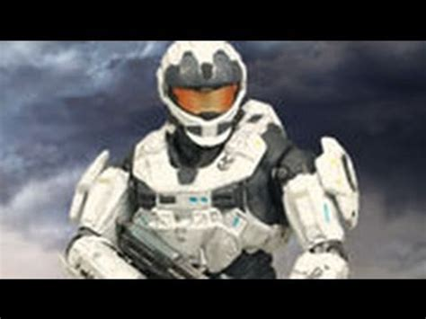 Halo White halo reach series 2 white cqc spartan figure review