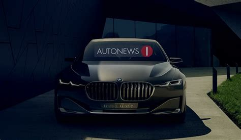 luxury bmw leaked bmw vision future luxury concept