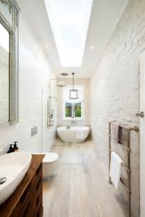 Narrow Bathroom Ideas Best 25 Narrow Bathroom Ideas On Pinterest Narrow Bathroom Bathrooms And Shiplap Master