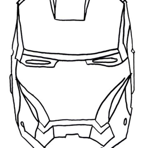 iron manface colouring pages