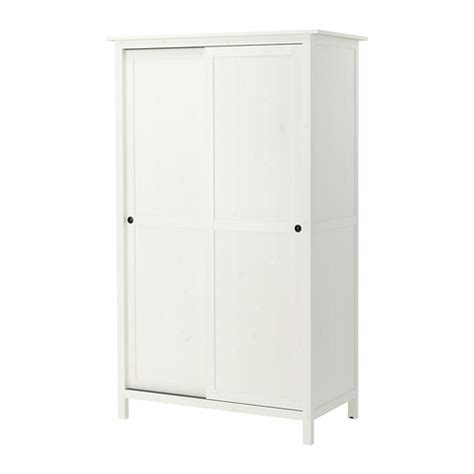 Hemnes Armoire by Hemnes Wardrobe With 2 Sliding Doors White Stain