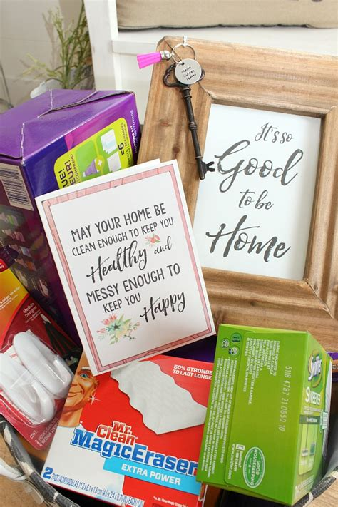 gift for housewarming housewarming gift ideas and free home printables clean