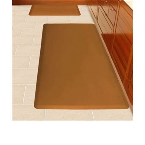 Distinctive Home Anti Fatigue Kitchen Mat - wellnessmats anti fatigue kitchen floor mat brown 6x3