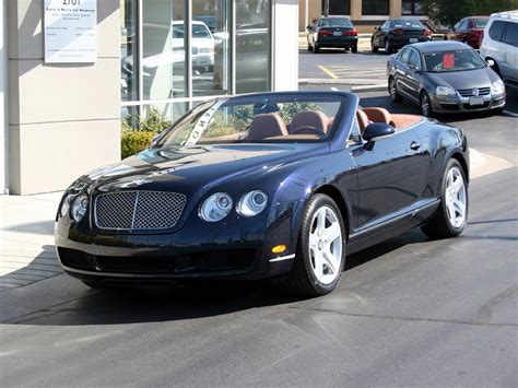 2007 bentley continental convertible 2007 bentley continental gt convertible