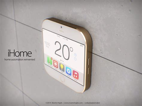 apple ihome concept deals with home automation in small