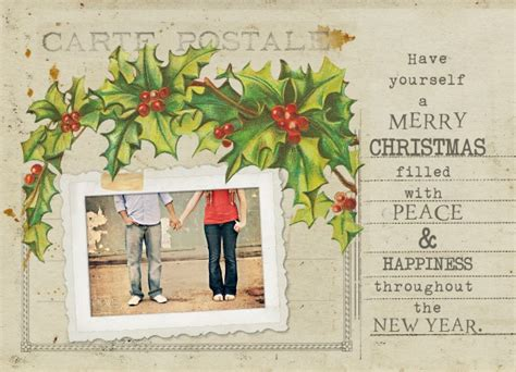 free photo card templates 2014 free vintage card template