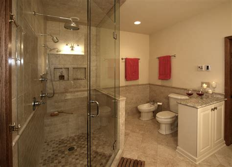 earth tone bathroom new berlin master bathroom wooden thumb remodeling