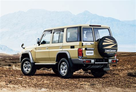 toyota makes toyota re makes original land cruiser 70 for one year in