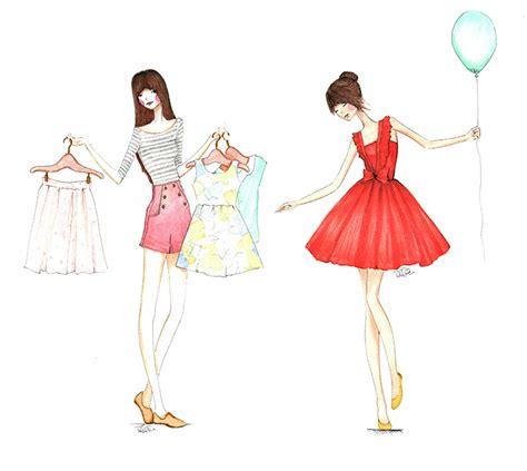 fashion sketch watercolor www pixshark images