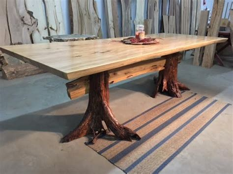 tree stump live edge coffee table made of live edge matched elm dining table beautiful salvaged