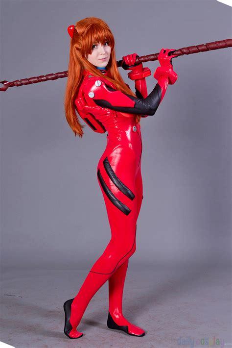 asuka langley plug suit cosplay asuka langley soryu plugsuit from neon genesis evangelion