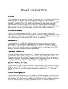 change control board charter template hashdoc