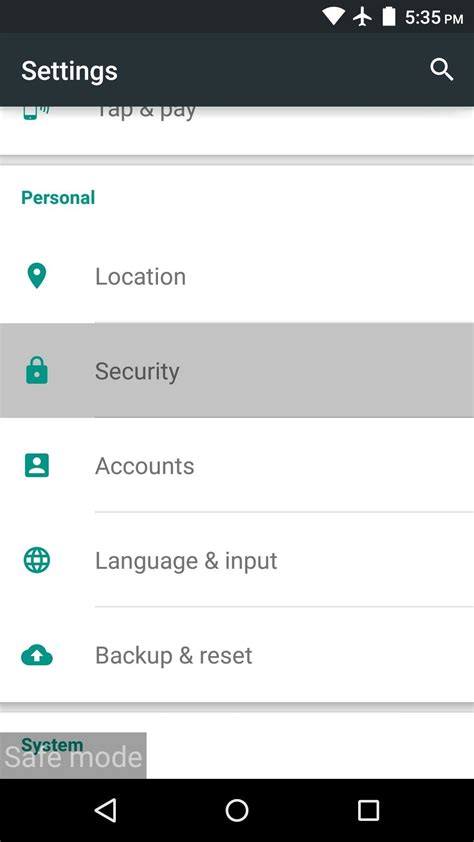 pattern unlock grayed out how to uninstall malware from your android device