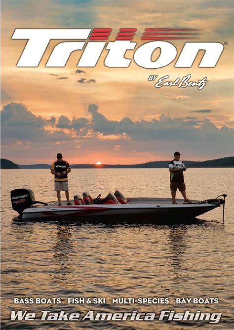 2014 triton boats freshwater catalog by triton boats issuu - Triton Boats Catalog