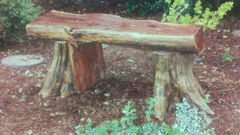 cedar log bench cedar log bench crafty ideas pinterest logs log