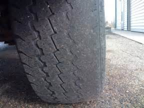 Trailer Tire Wear Inside Edge Uneven Tire Wear Problems Ford Trucks