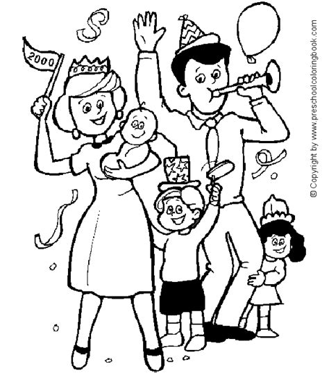 preschool coloring pages about families family coloring pages for preschool coloring pages