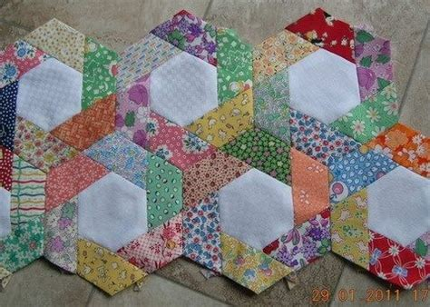 Hexagon Patchwork Projects - 223 best images about quilting on