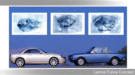 lancia fulvia interni sketchbook historic cars 2003 lancia fulvia concept