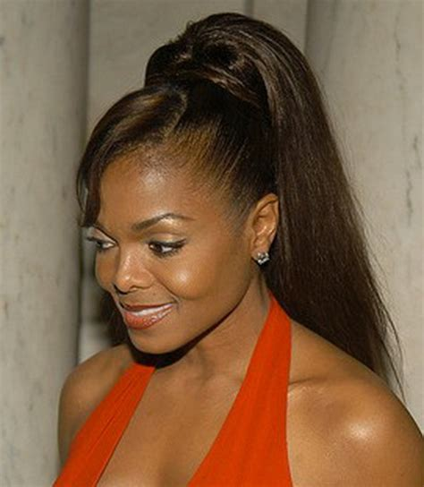 black hairstyles pictures ponytails ponytail hairstyles for black
