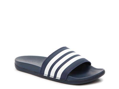 Adidas Adilette Chunky Sandal adidas adilette cloudfoam ultra stripes slide sandal navy white 365944 415 25 02