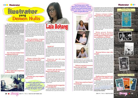 contoh layout majalah sekolah press nylon guys storymagz