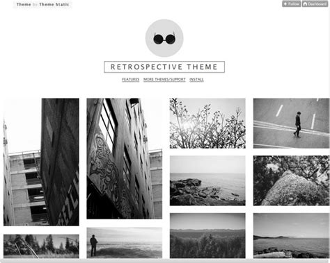 tumblr themes free gallery 25 responsive tumblr themes for photographers