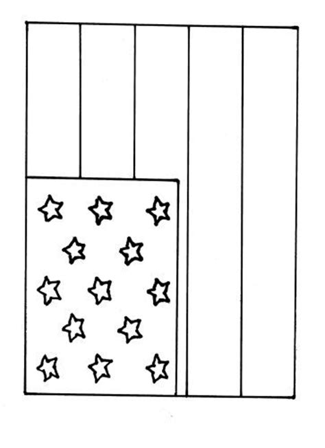 flag coloring page for kindergarten flag coloring page templates pinterest crafts flags